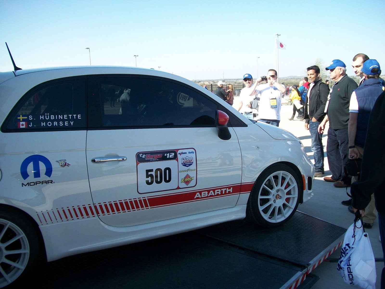 abarth blog black label fiat 500 abarth united states grand prix 2012. Black Bedroom Furniture Sets. Home Design Ideas