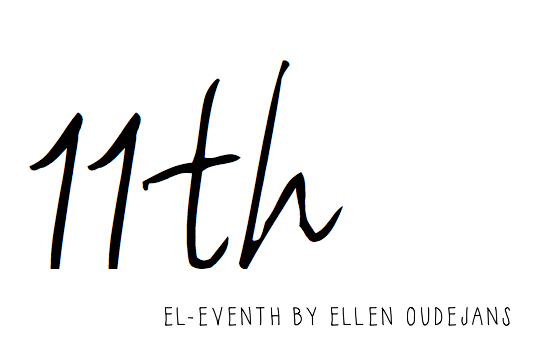 EL-EVENTH | FASHION BLOG BY ELLEN OUDEJANS