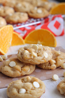 Orange Dreamsicle Cookies