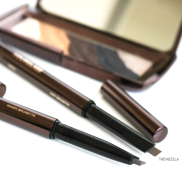 how to define eyebrows, Hourglass Arch Brow Sculpting Pencil, review, swatch