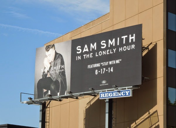 Sam Smith In the Lonely Hour billboard