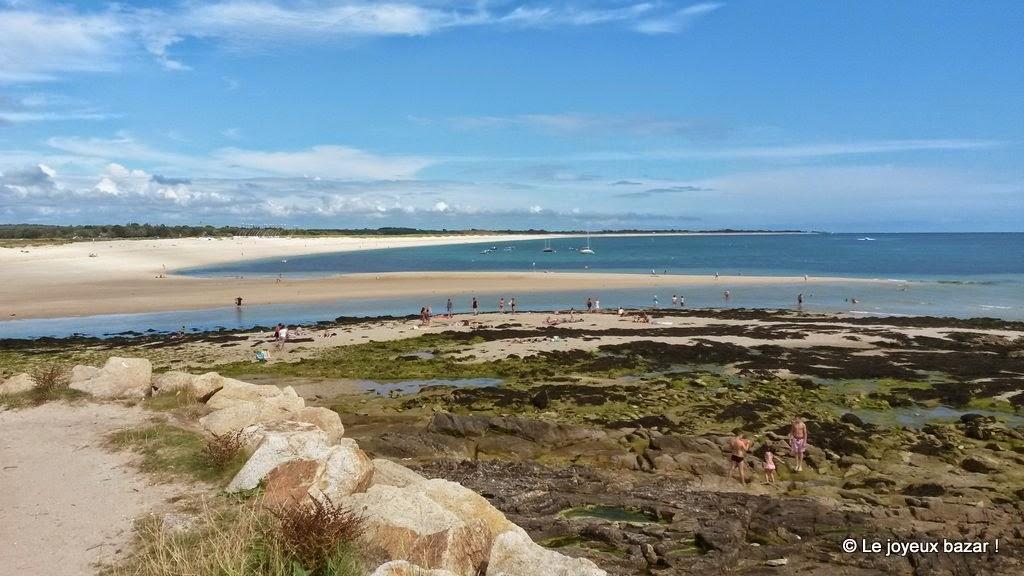 Bretagne - Benodet - mer blanche