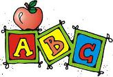 Play school ABC building blocks