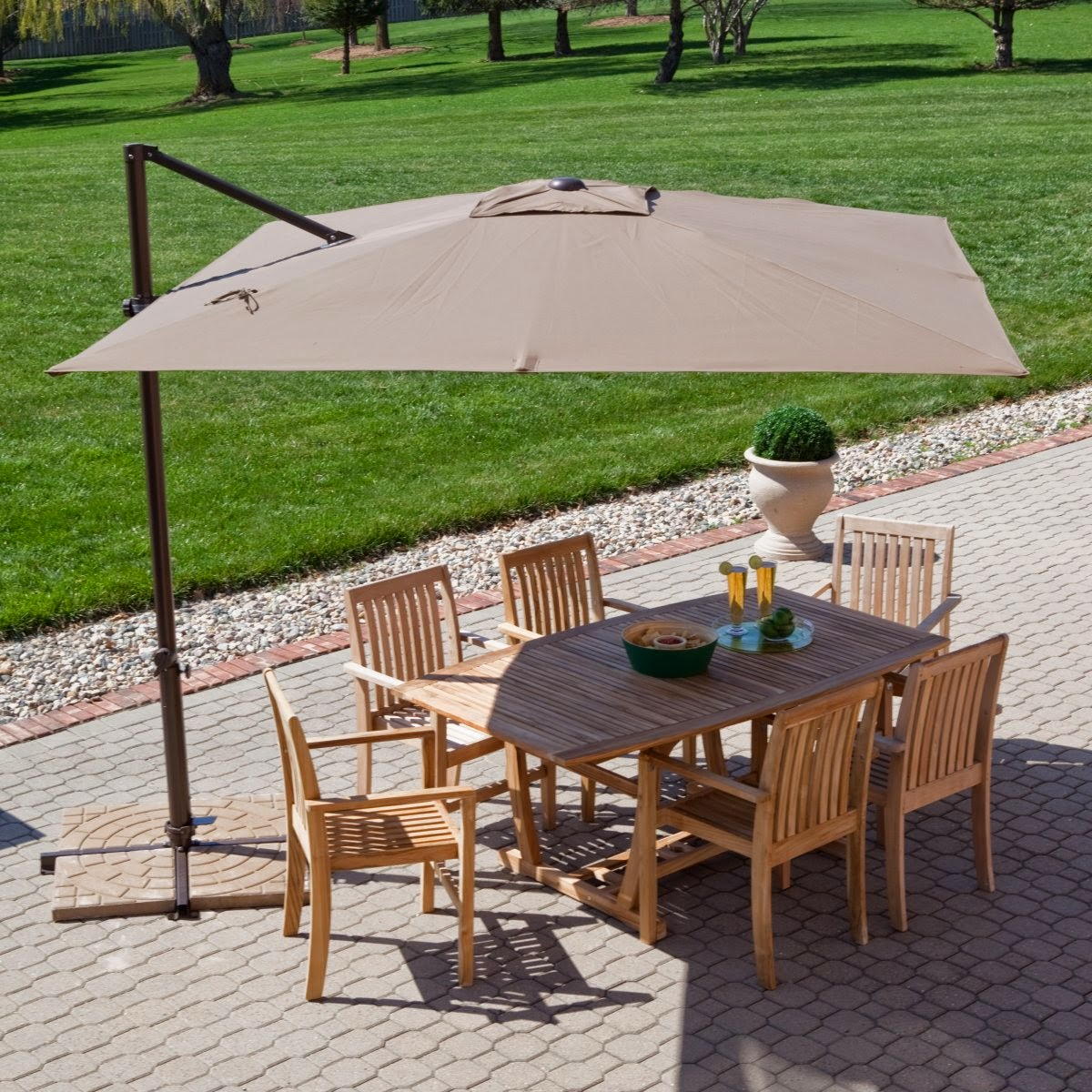 patio umbrellas treasure garden