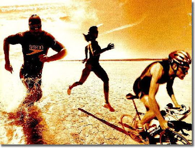 triathlon training on personal trainer blog