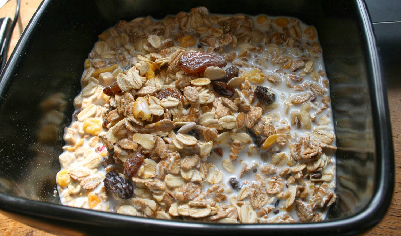 A bowl of muesli. Yay.