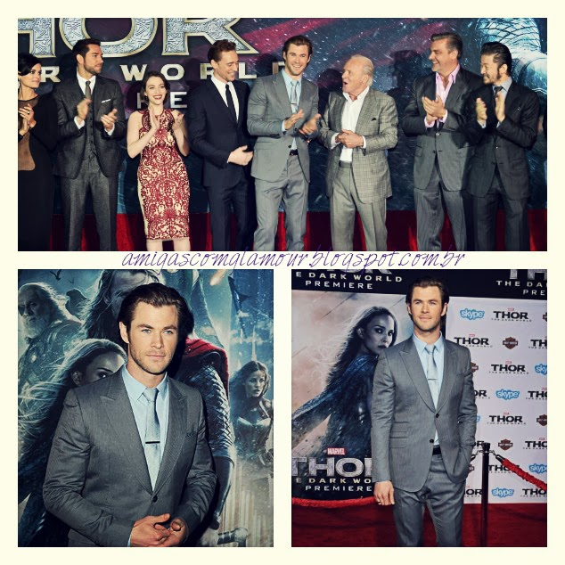 thor dark world premiere