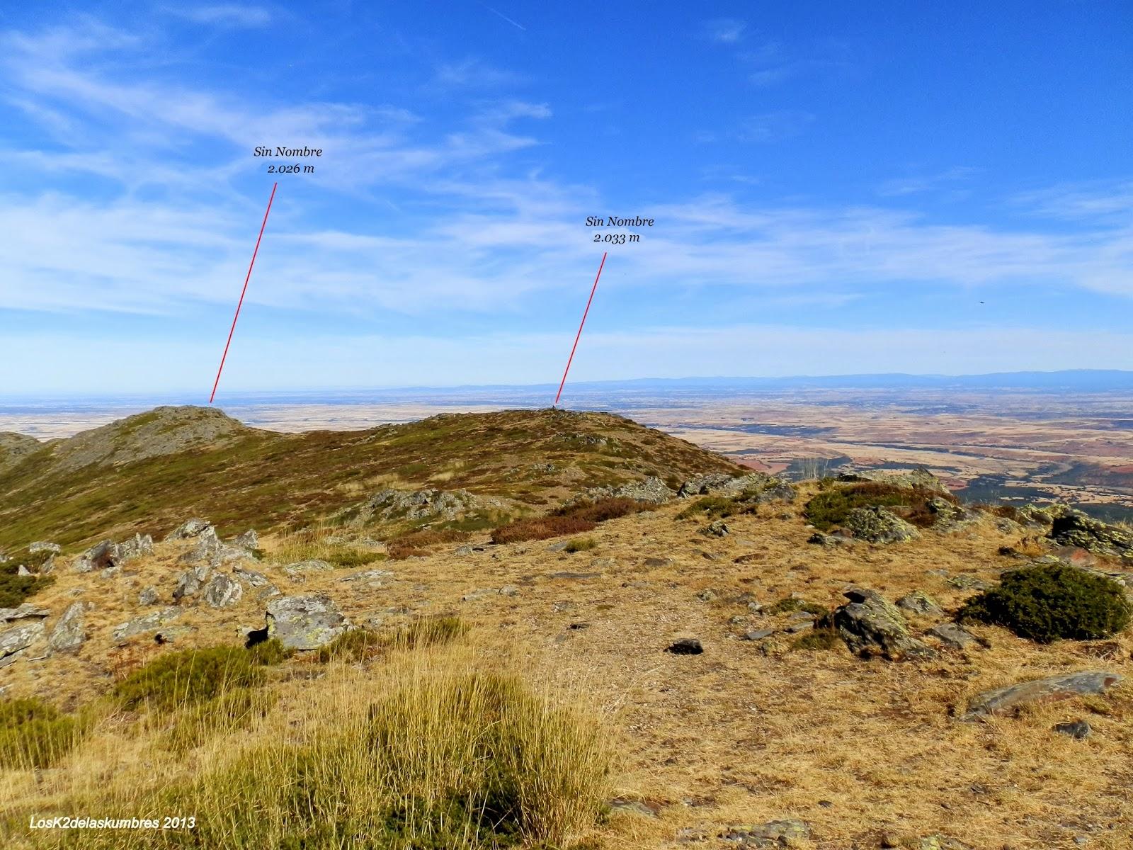 Pico la Buitrera - Cerro Mesa Peñota
