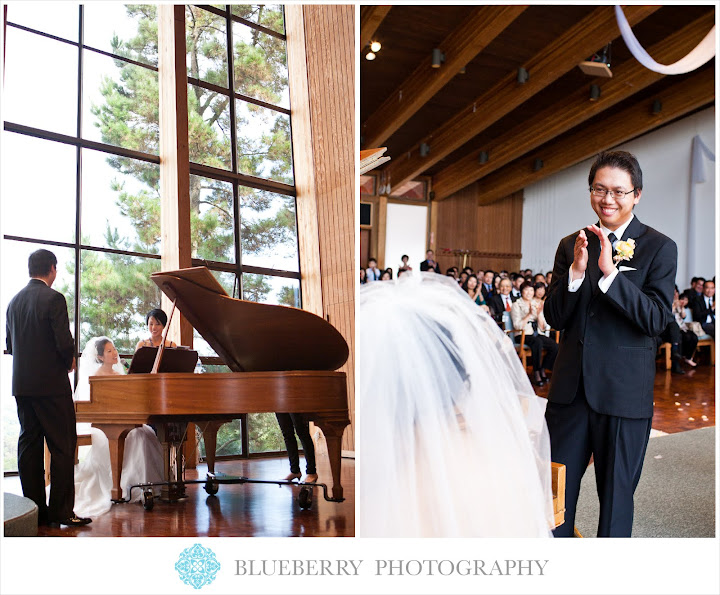 Oakland skyline church beautiful wedding photography