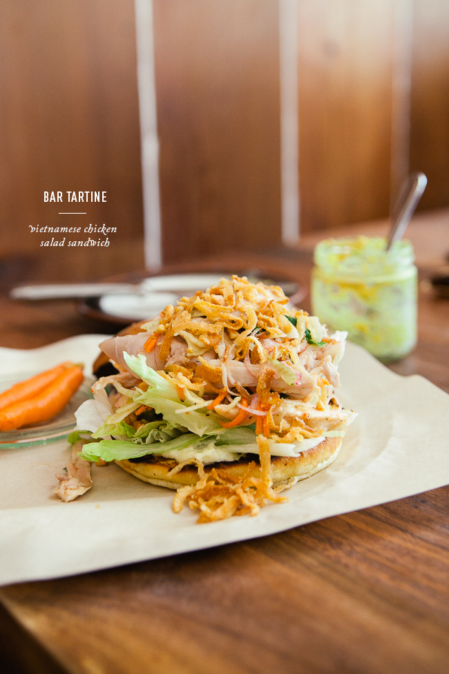 Vietnamese Chicken Salad / Bar Tartine