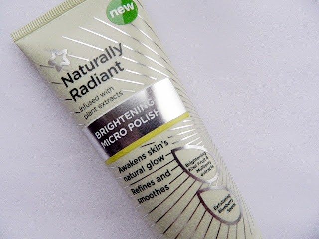 superdrug naturally radiant micro polish