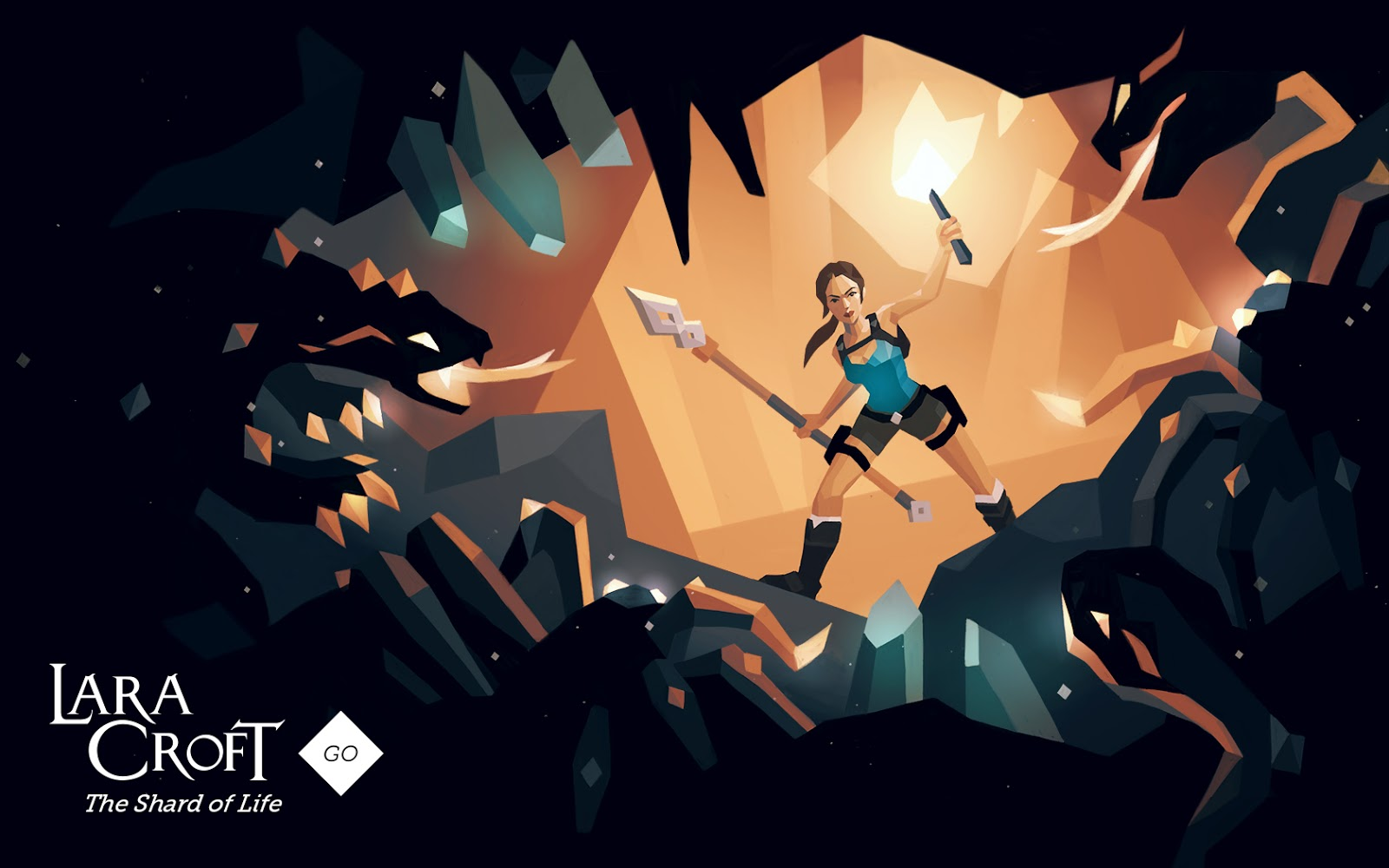 Lara Croft GO The Shard Of Life Wallpapers