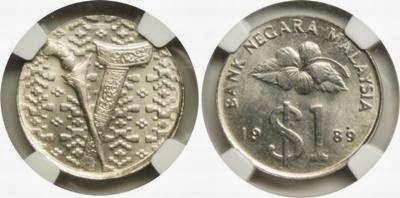 silver 1 ringgit