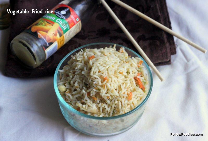 Vegetable fried rice / ப்ரைடு ரைஸ்