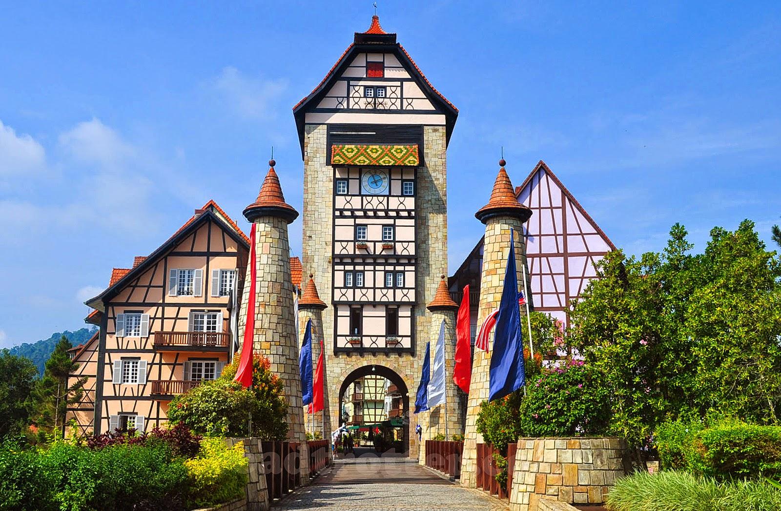 Colmar Tropicale Bukit Tinggi French Village