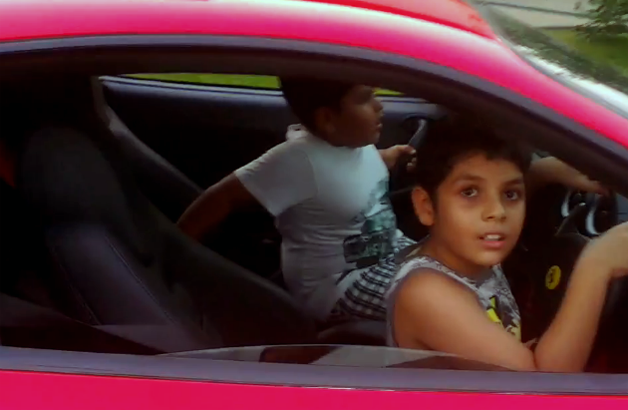 Few Days Before We Brought You The Video Of A 9 Year Old Boy Driving Ferrari F430 And Later Range Rover As Expected Which Went Viral