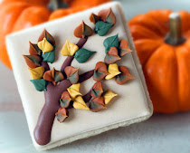 Autumn Tree Cookies