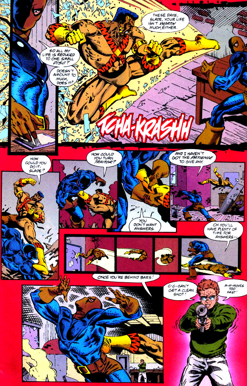 Deathstroke (1991) Issue #41 #46 - English 9