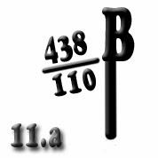 Ejemplo 11.a: Ubicación del 438º Bón. de la 110ª Brigada Mixta