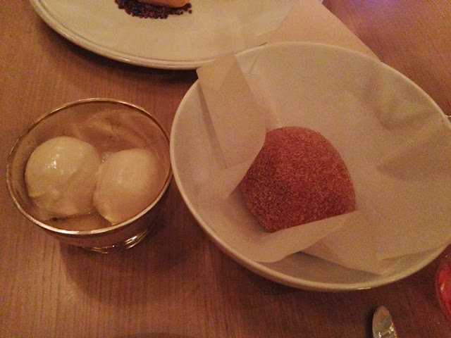 berners tavern chocolate donut dessert