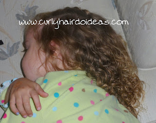 Hairstyle for Toddlers with Curly Hair