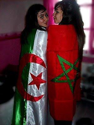 En images, Maroc - Algérie, frére pour toujour