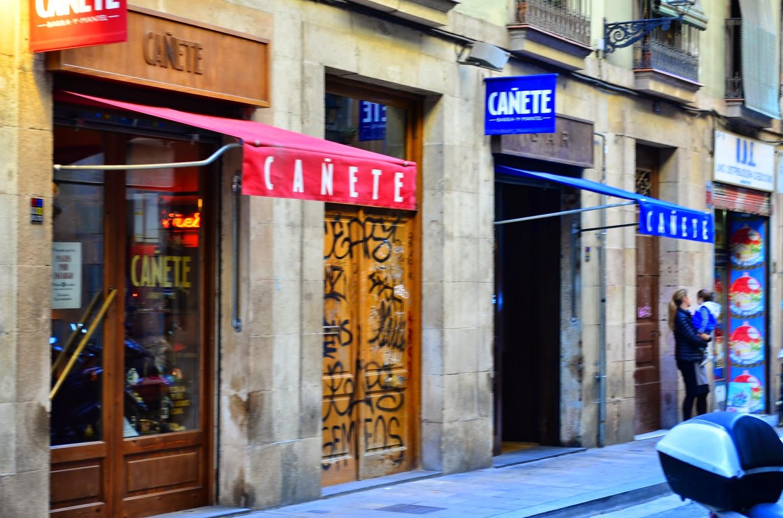 Hedofoodia: Bar Cañete, Barcelone