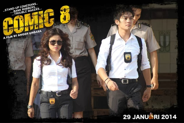 Review Comic 8 Anggy Umbara 2014 Ngobrolin Film