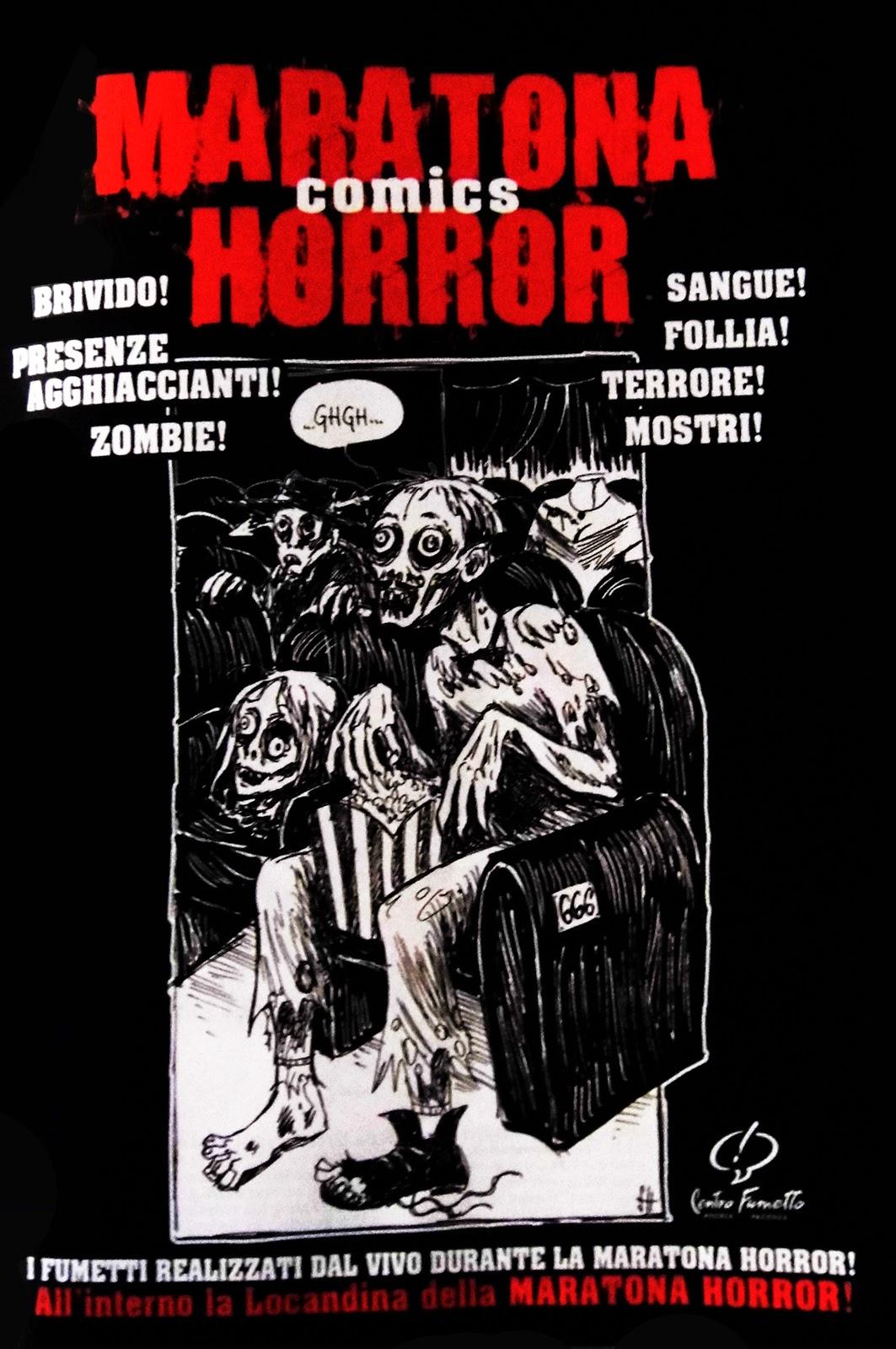 Maratona Horror Comics