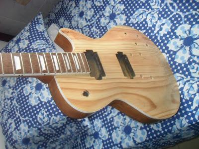 les paul luthier replica