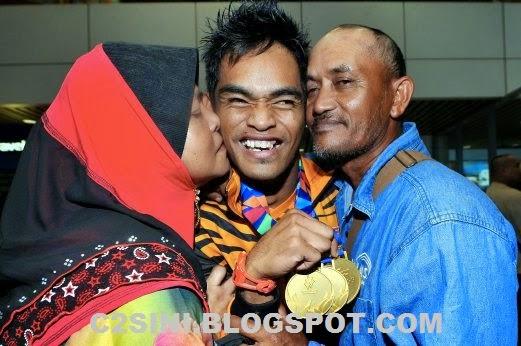 Pemenang 3 emas sukan Paralimpik di Incheon Korea maut kemalangan