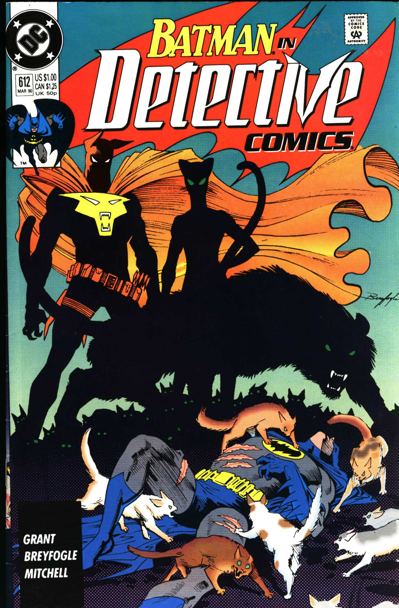 Detective Comics (1937) 612 Page 1