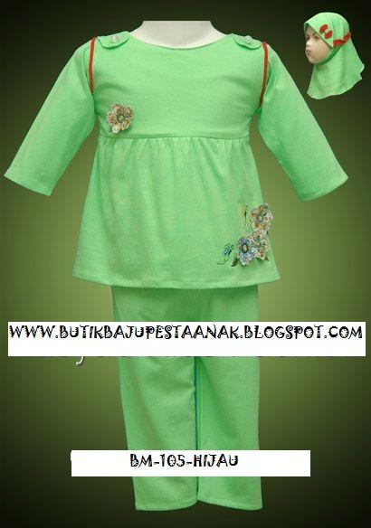 Model Baju Gamis Burkat
