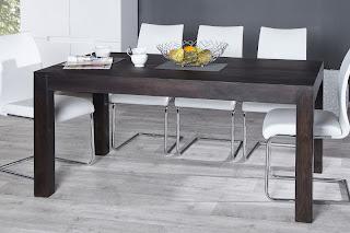 Masivny jdalensky stôl, stôl v orechovej farbe, jedalensky stôl