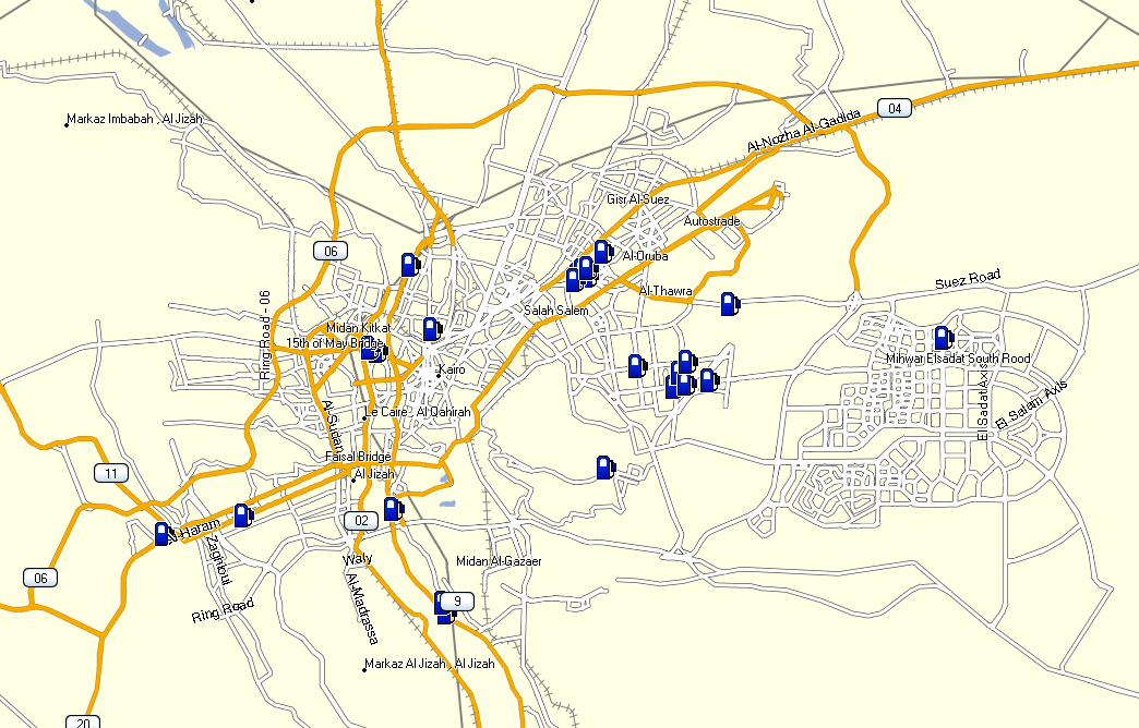 Garmin Nuvi Egypt Map