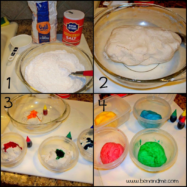 Step-by-step instructions for making salt dough Christmas ornaments with your kids. Such a simple and fun activity that will create a beautiful childhood keepsake!