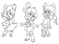 The Chipettes in Alvin And The Chipmunks