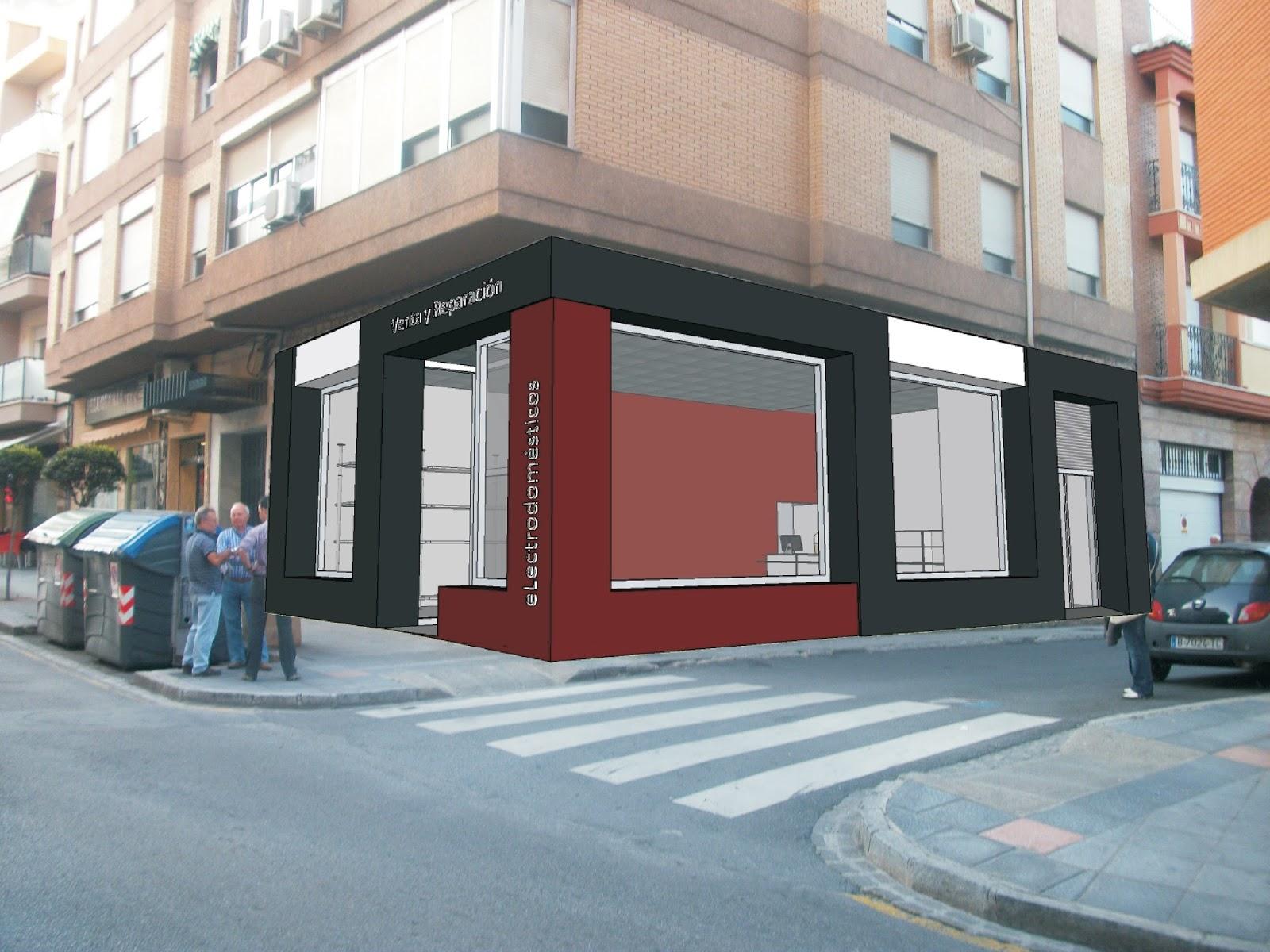 Lfs arquitectura reforma y adaptaci n de local comercial for Local arquitectura