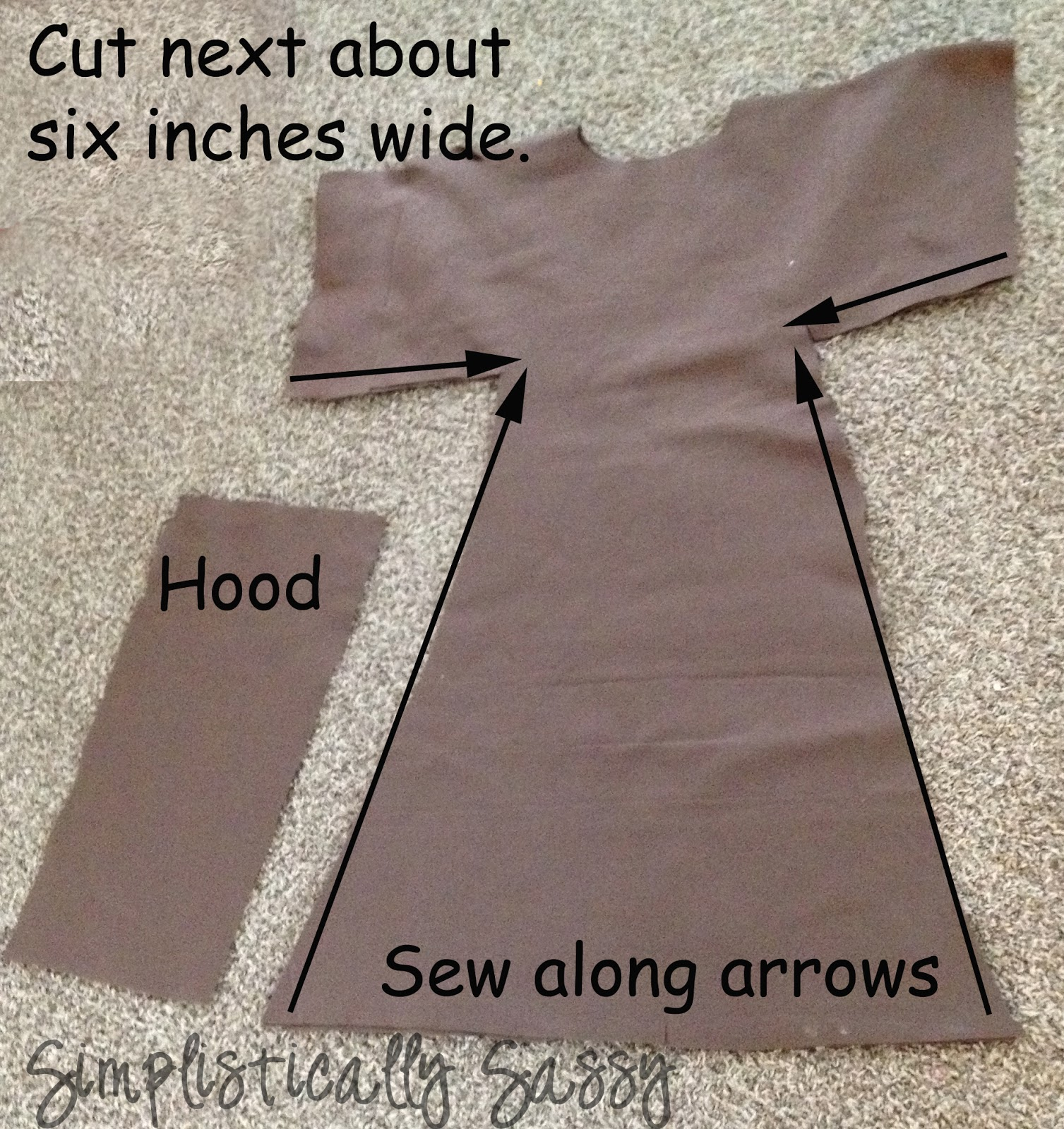 Easy robe tutorial