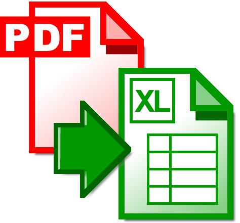 تحميل برنامج Convert PDF to Excel 1.0.0 مجانا لتحويل PDF إلى Excel