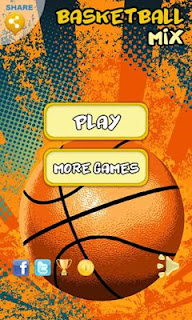 Screenshots of the Basketball Mix for Android tablet, phone.