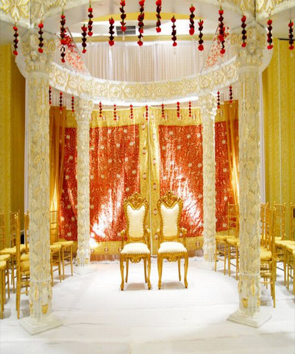 Marriage mandap possesses a great significance in Indian Marriage
