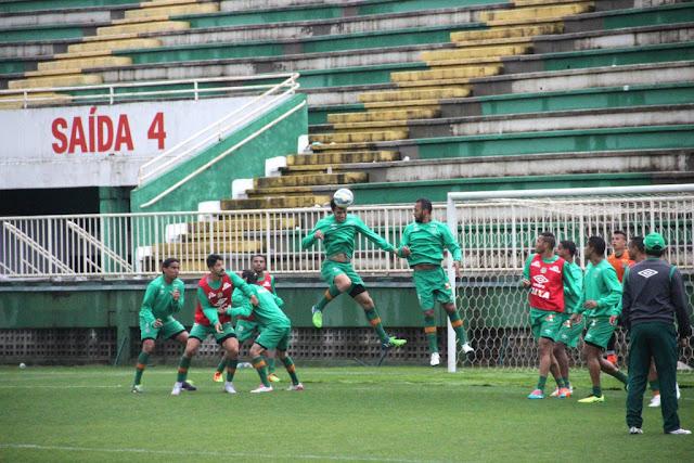 Reservas da Chape participaram de jogo-treino contra o Ypiranga-RS na última segunda (Foto: Cleberson Silva/Chapecoense)