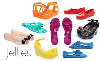 Trend sepatu terbaru Jelly Shoes Trend Model Sepatu Cewek Yang Lagi Musim Di 2013