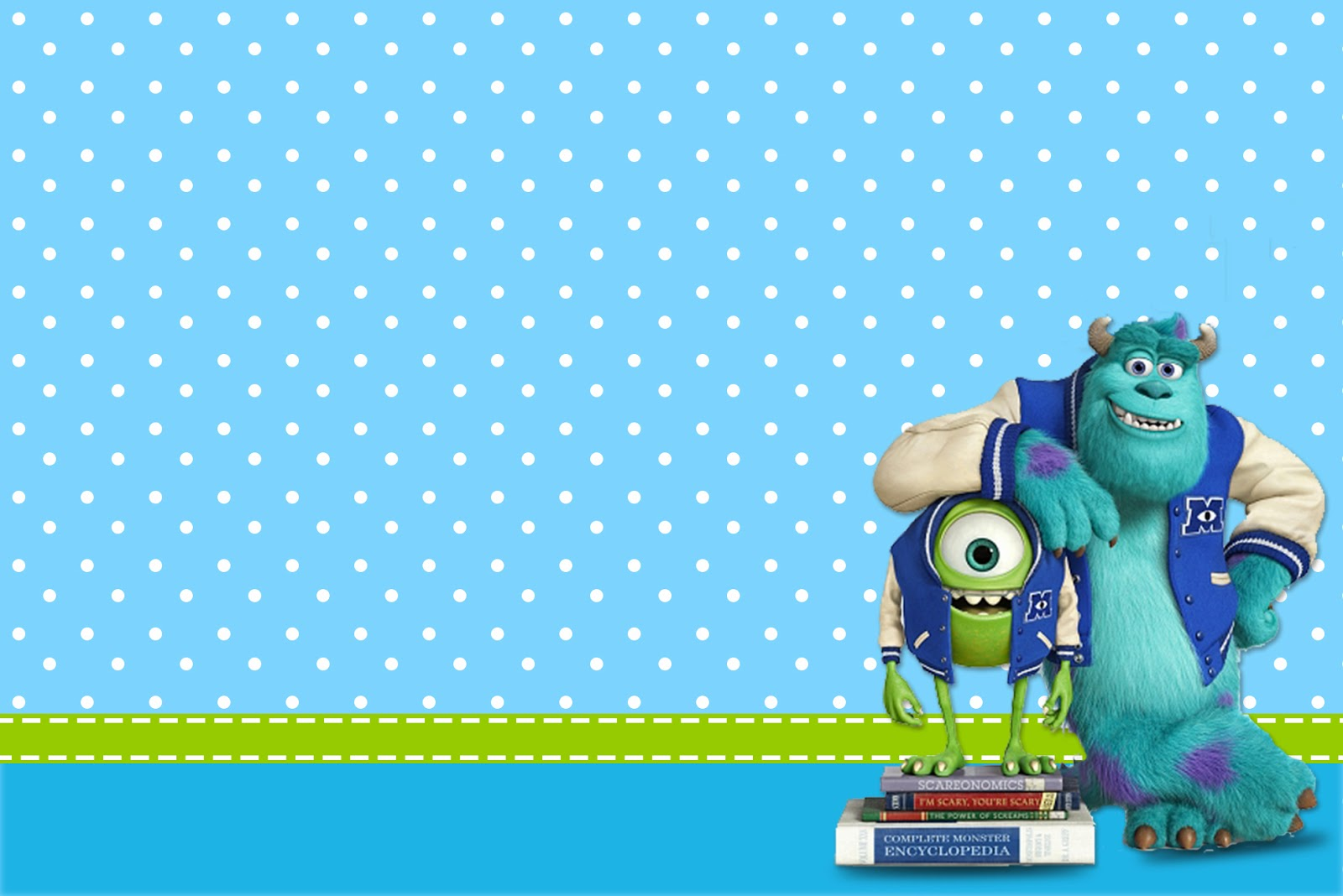 Monster University: Free Printable Party Invitations. | Oh ...