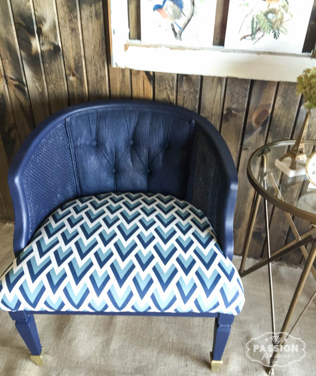Iu0027ll definitely paint fabric again and Iu0027ll for sure use General Finishes paint and stain again!! Have you ever painted fabric? & My Passion For Decor: September FFFC Geometric Design...Donu0027t ...