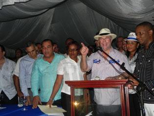 Hipólito Mejía encabezará marcha-caravana este jueves en Boca Chica