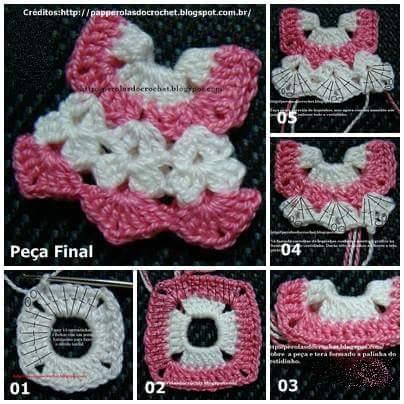 Souvenir vestido crochet paso a paso sencillo