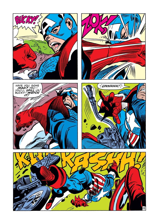 Captain America (1968) Issue #132 #46 - English 15