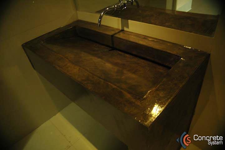 Tinas De Baño De Concreto:CONCRETE SYSTEM – Concreto decorativo para pisos y muros – Concreto